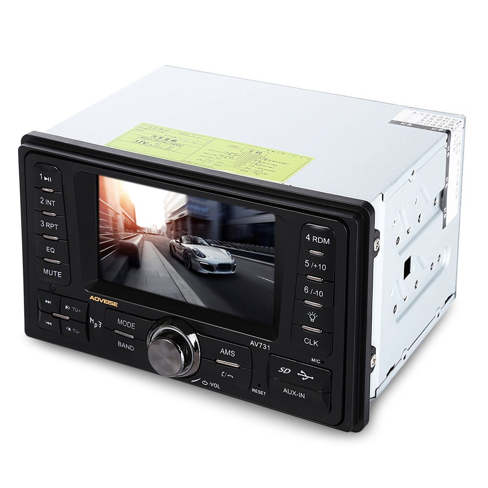 Universal AV731 2 Din Car Radio Palyer MP4 MP5 Player Stereo Radio FM font b Audio