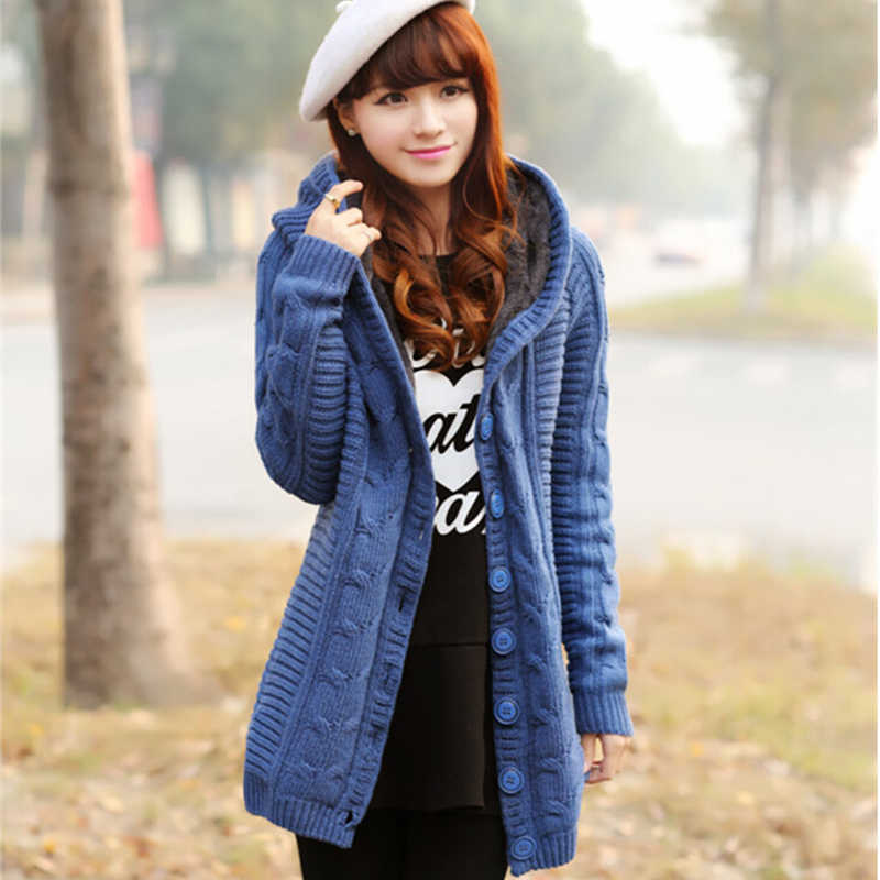Весна/осень Новый кардиган пальто 2019 женский длинный участок твист кардиган свитер пальто Корейская версия толстый теплый свитер 4 цвета
