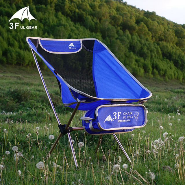 3F UL Ultralight Chair Folding Camping Back Rest Chair 3