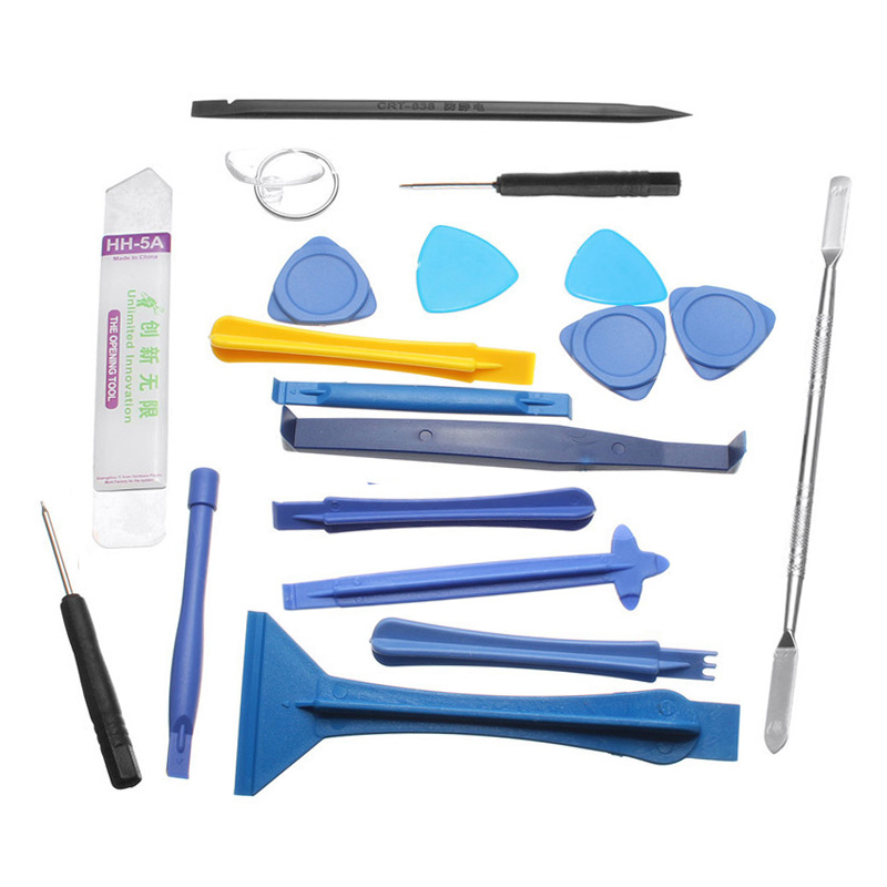 19 pcs 1 Sets Opening Repair Tools Laptop Phone & Screen Disassemble Tools Set Kit For iPhone For iPad Cell Phone Tablet PC