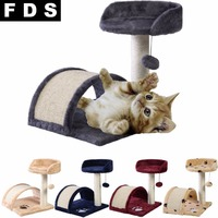 8 Deluxe Cat Tree Level Condo Furniture Scratching Post Kittens Pet Play Paws Free Shipping PS5799