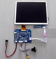 LSA40AT9001 10.4 inch LED LCD screen with VGA/AV driver board can be equipped with touch screen