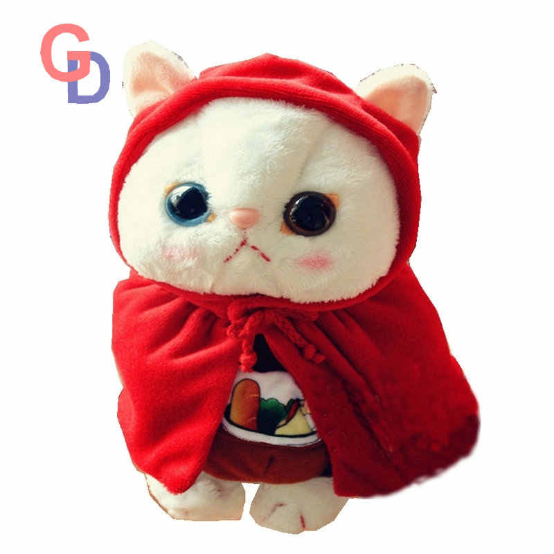 8ab86e8b33e Big Eyes Garfield Cat With Superman suitting Korea stuffed cat toys for  baby birthday present Super