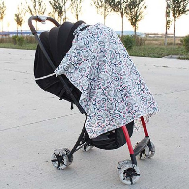 Colourful Nursing Cover with Adjustable Strap