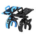 Action Claw Bike Accessories Bicycle Phone Holder For iPhone 4 4S 5 5s 6 6s plus Samsung Mobile Bag Stand