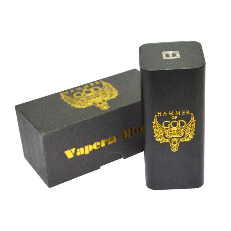 Nouveauté marteau de dieu V3 boîte boîte à cigarettes électronique Mods pour 510 fil RDA atomiseur Fit 4 pièces 18650 batterie Mech boîte Mod