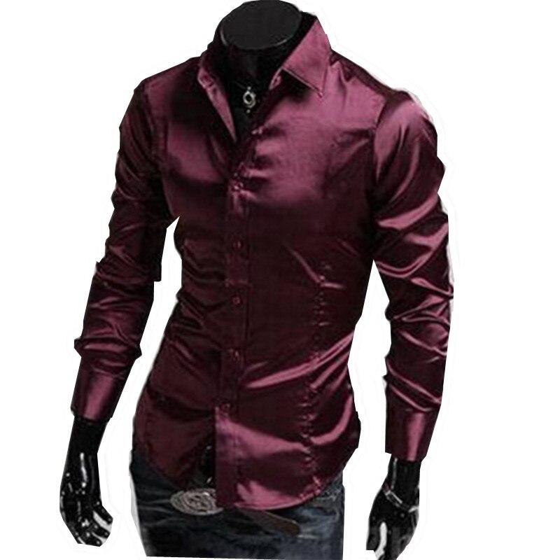 Online Get Cheap Dark Purple Dress Shirt -Aliexpress.com  Alibaba ...