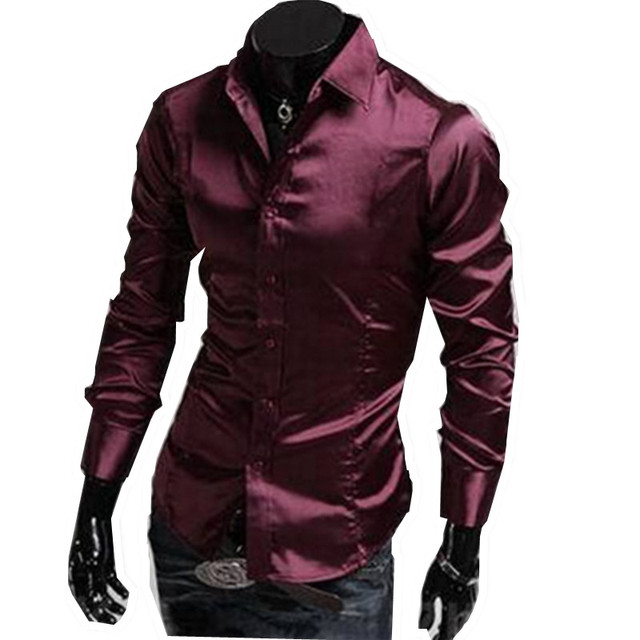 Aliexpress.com : Buy 2017 New Dark Red Purple Mens Designer Men ...