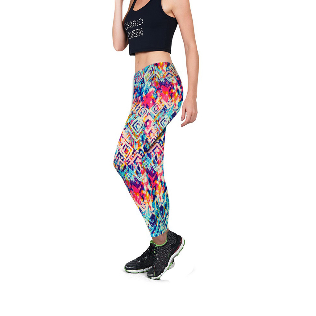 Hip Stretch Lifting Wrinkled Bubble High Waist Running Exercise Fitness Pant Shorts Yoga Nine Pants for Women
