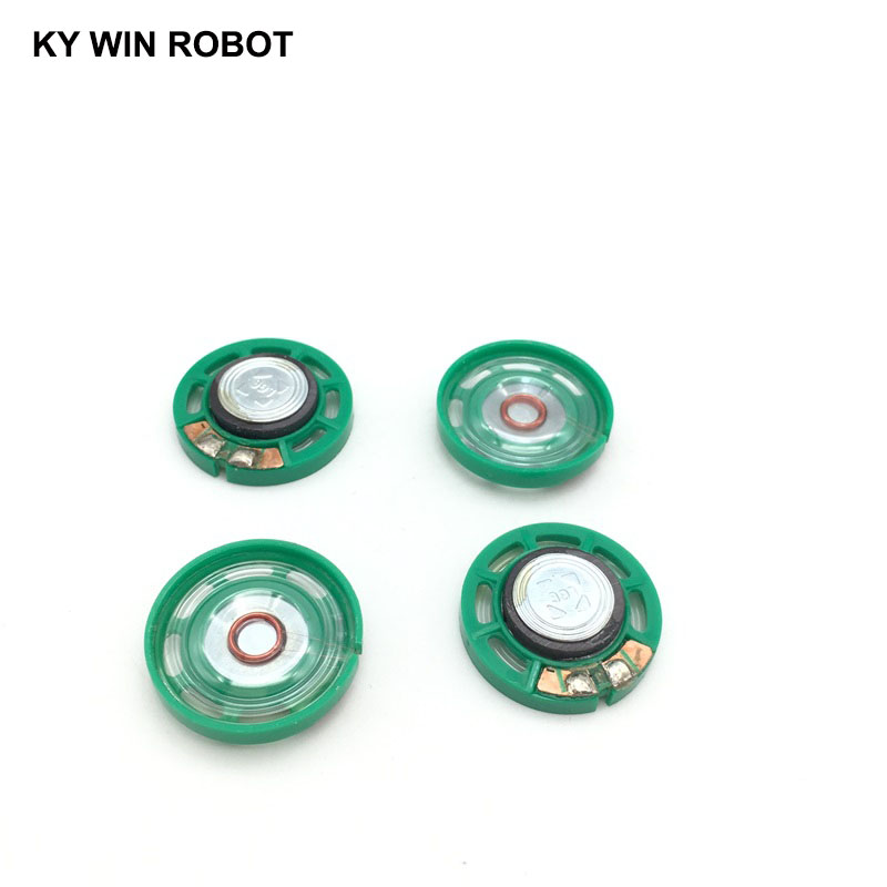 Image 3 - 5pcs/lot New Ultra thin Mini speaker 16 ohms 0.25 watt 0.25W 16R speaker Diameter 27MM 2.7CM thickness 7MM-in Acoustic Components from Electronic Components & Supplies