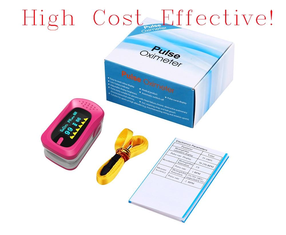 Cozing LCD Digital finger pulse oximeter, OLED Fingertip Pulse Oximeter -Spo2 Monitor elera portable finger pulse oximeter spo2 pr odi4 pi fingertip oximetro de pulso de dedo blood oxygen saturometro