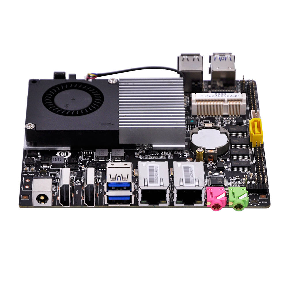 2017 New Celeron 3215U Dual LAN 4 RS232 onboard  ITX Motherboard Q3215UG2-H fiscal end aluminum fanless embedded computer with i3 3217u 6com 4g ram onboard 2 intel lan support wake on lan dual 24bit lvds