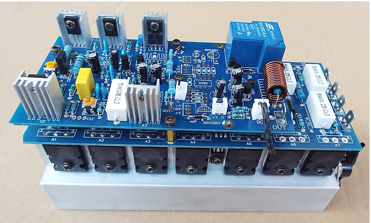 14 Pcs A1943 C5200 650w Mono Hifi Large Power High-fidelity Home Fever Professional Stage Amplifier Board