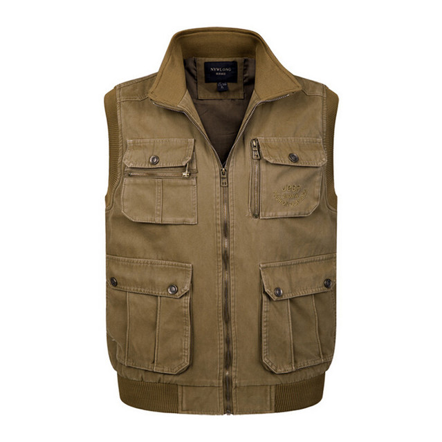 Vest men clothing tactical sleeveless jacket vest clothing male army military waistcoat combat vest