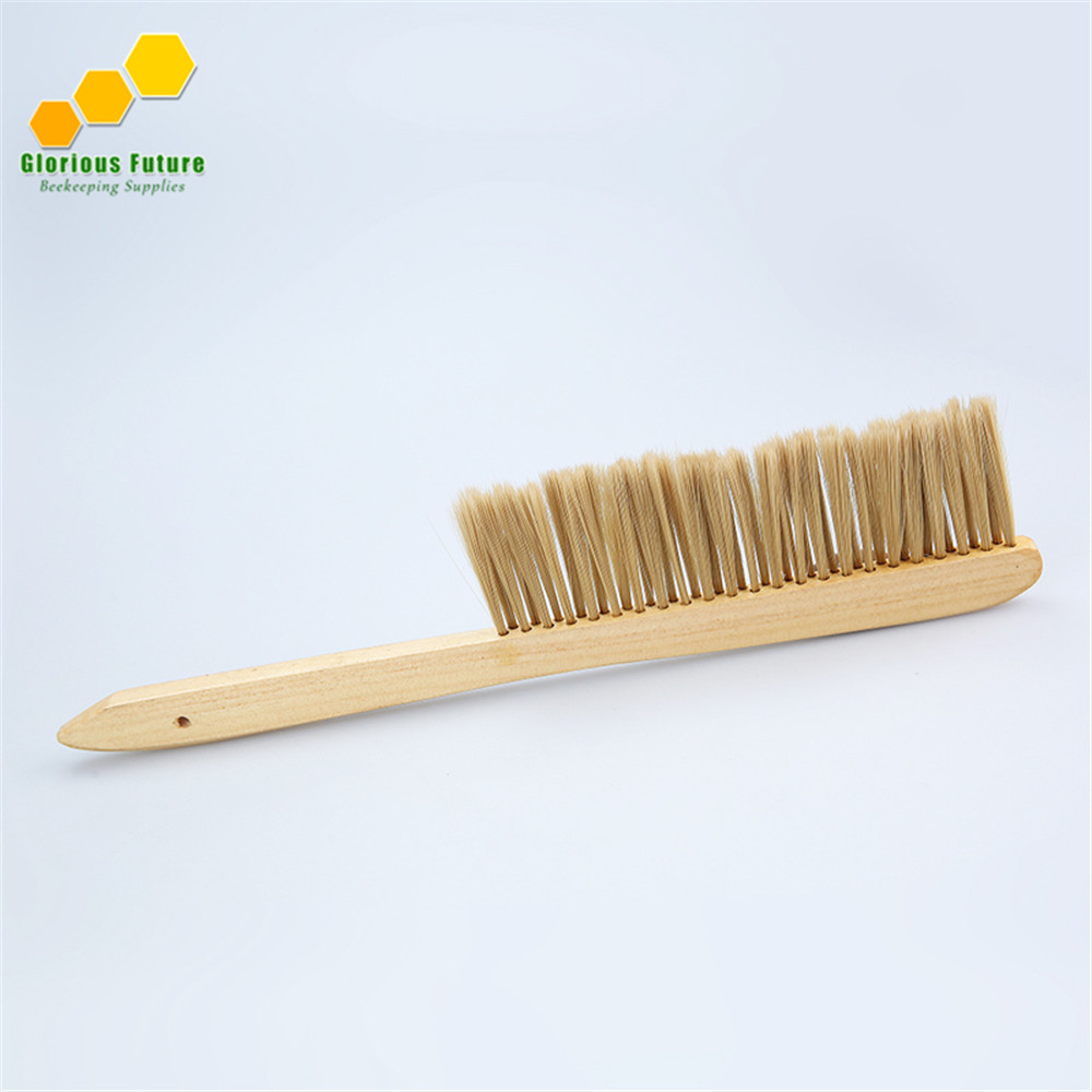 5Pcs Bee Brush High Quality Beekeeping Tools Bee Hive Swape Wood Handle BB 5 in Beekeeping Tools from Home Garden
