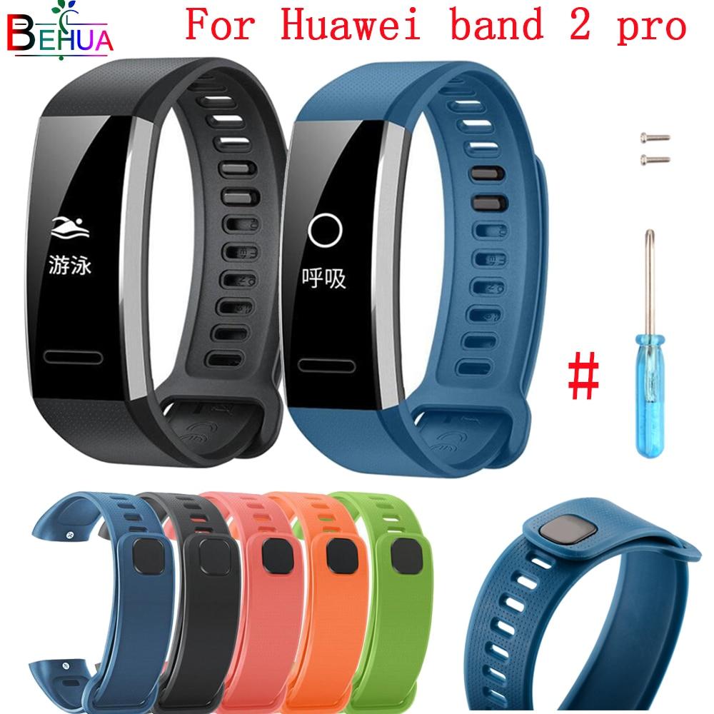 Sport Watch Band Strap For Huawei Band 2/Band 2 Pro Replacement  Wrist Band Watch Strap For Huawei Band 2/Band 2 Pro Smart Watch