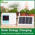 Neue Intelligente Garten Automatische Bewässerung Gerät Solar Energie Lade Topfpflanze Tropf Bewässerung Wasserpumpe Timer System-in Bewässerungs-Kits aus Heim und Garten bei