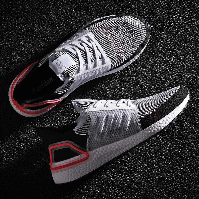 ขนาดใหญ่ 46 ใบมีด Bounce ผู้ชายรองเท้าผ้าใบฤดูใบไม้ร่วงกลางแจ้ง Breathable กีฬารองเท้าวิ่งรองเท้าสำหรับ Man Sport ใช้ลู่วิ่ง Men รองเท้า
