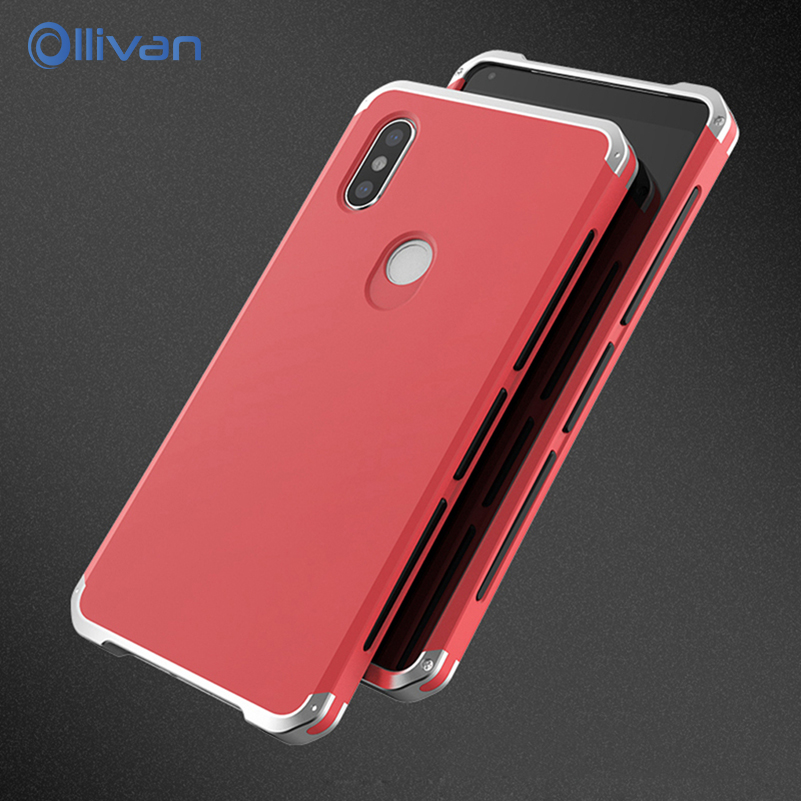 Ollivan for Xiaomi Redmi Note 5 case cover for Note5 Global Version Back Cover Metal Frame Case Coque for Redmi note 5 pro cases