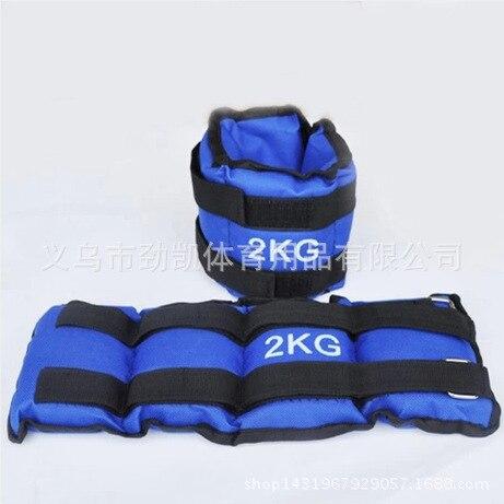 Atletizm ekipmanları kum Tozluk Tayt çalışan kum torbaları kum torbası ağırlık fitness ekipmanları çalışan spor kum torbası 2 kg