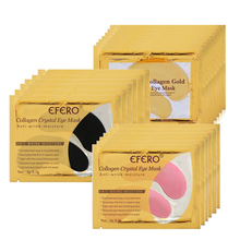 EFERO 30Pairs=60pcs Gold Collagen Eye Mask Patches Under the Care Cream Essence Anti Aging Wrinkle Remove Dark Circles
