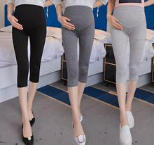 Women Summer Clothing Maternity Leggings Pregnant Casual Pants Thin Pregnancy Comfort Spring