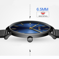 Ultra Thin Dial Fashion Simple Style Men Watch Top Luxury Brand Men S Watches Stainless Steel