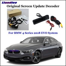 Liandlee For BMW 4 F32/F33/F36 EVO System Car Original Screen Update Rear Reverse Camera Digital Decoder Display Plus