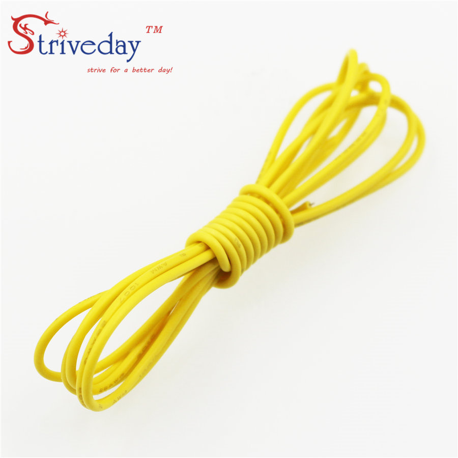 Striveday 1007 20 Awg Cable Copper Wire 1 Meter Red Blue Green Core Electric China Mainland Electrical Wires Black 20awg Cables Diy Equipment In From Lights
