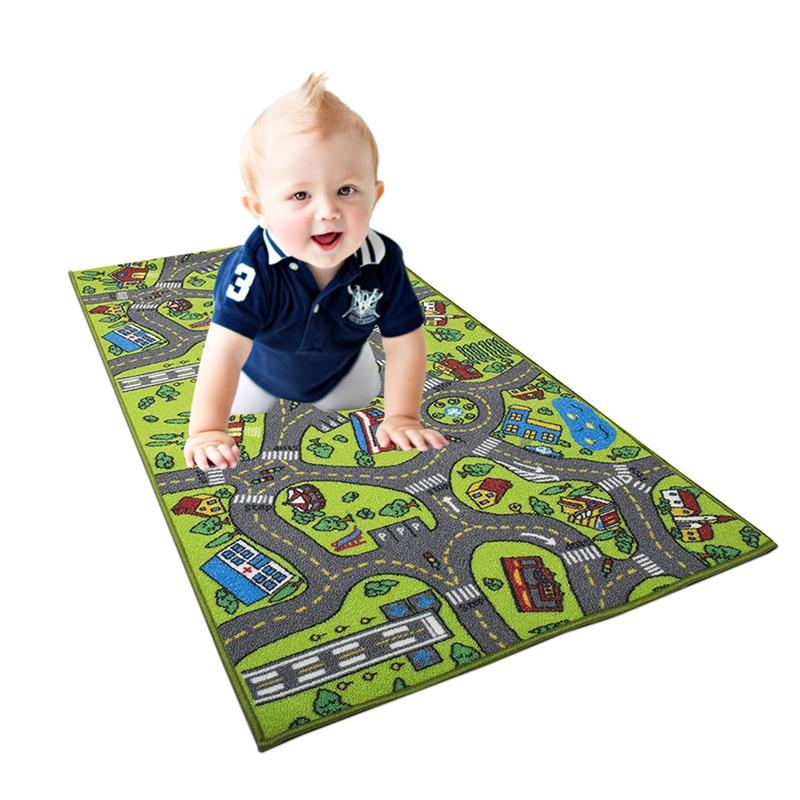 Enfants Durable intérieur magique dessin animé modèle tapis de jeu carte jeu Table tapis de rassemblement jouets de jeux