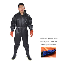 1mm Waterproof Fishing Overalls Men Women Breathable Chest Waders respirant Boots Black Fishing Pants cuissardes peche Shoes