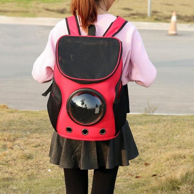 Cat Astronaut Bubble Backpack