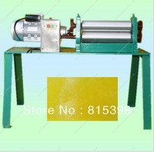 Electric beeswax  flat sheet coin mill  machine 75*310mm