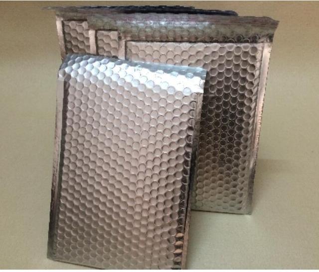 20 25cm Purple Aluminum Bubble Bag Poly Mailers Envelopes Whole Shipping Air