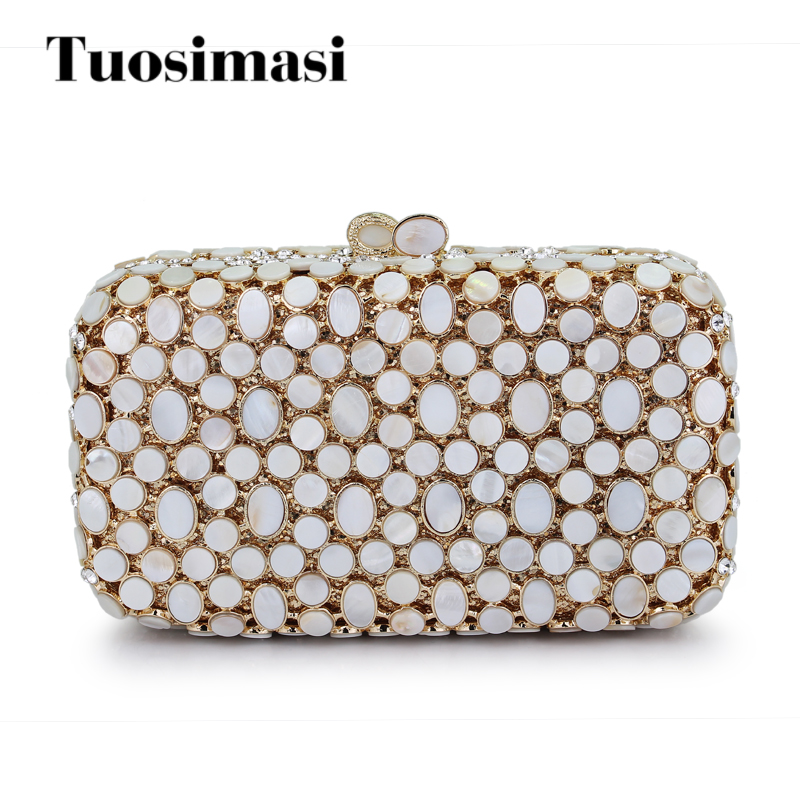 Bridal Metal Clutch Bag Women Crystal Gold Evening Bag Wedding Party Handbags Purse Lady Diamond Rhinestone Clutches(HS-0314) gold silver clear crystal diamond women evening bag metal clutches bag wedding party bridal clutch purse chain shoulder handbags