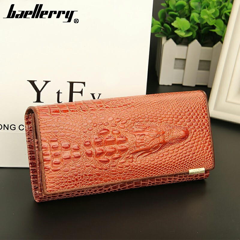2016 New brand long  women's wallet high quality  Crocodile genuine leather purse for lady Clutch phone bag free shipping yuanyu new hot free shipping card bag real thailand crocodile leather long wallet female fashion women day clutche purse