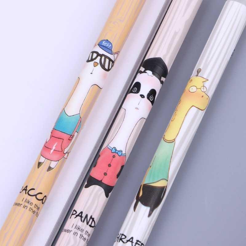 الإبداعية الكرتون الحيوان سيليكون مزدوج رئيس الاحتكاك ممحاة للمسح هلام القلم قطرة الشحن دعم