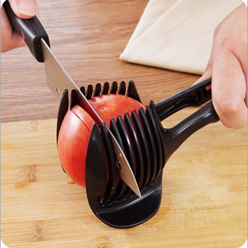 Multifunction Creative Design for Egg Tomato Lemon Fruit Clip Food Cutter Shredders Slivers Handheld for Bakeware Kitchen Tools