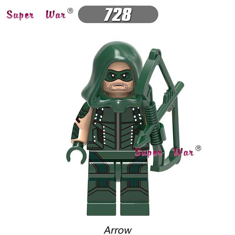 Single super hero marvel dc comics Netflix Marvel Defenders Arrow building blocks รุ่นอิฐของเล่นเด็กชุด