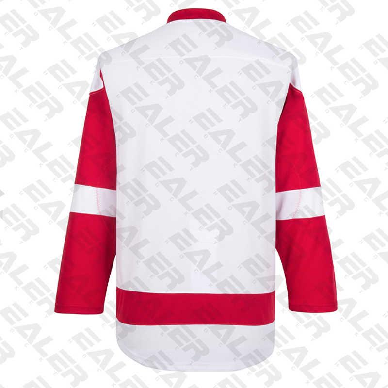 Ealer Бесплатная доставка Дешевые дышащие кроссовки пустой спортивный костюм хоккейный свитер, в наличии, на заказ, E008