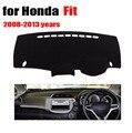 Car dashboard evite cojín ligero para honda fit 2008-2013 años de volante a la derecha del Auto Consola Evita el cojín ligero conse pad