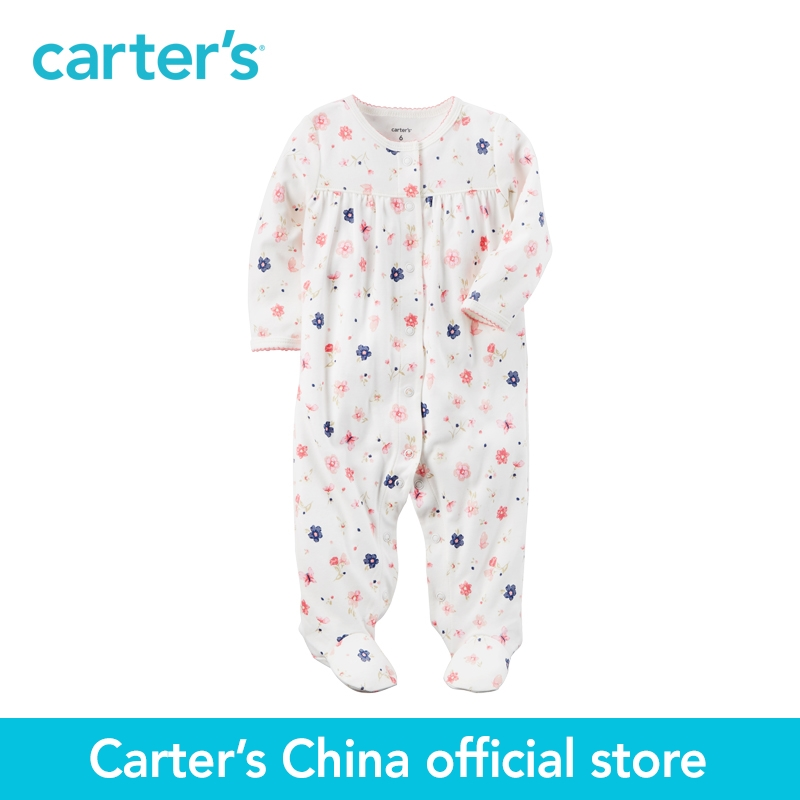Carters 1-piece Cotton Snap-Up Sleep & Play baby kids chidren clothing Spring&Fall 115G399