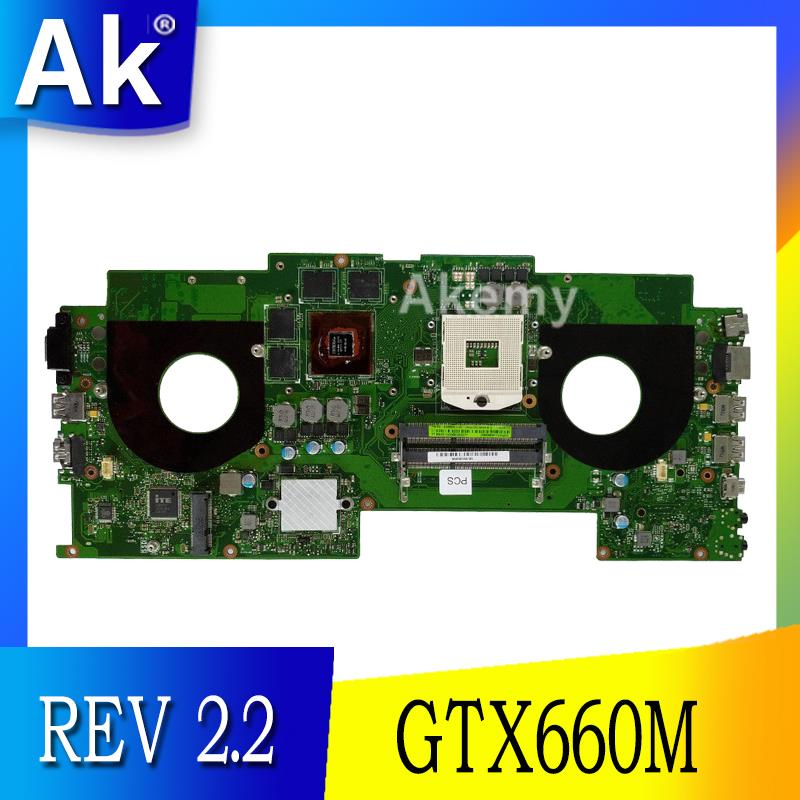 G46VW MAIN_BD.OM/QC/AS GTX660M 2GB VRAM Mainboard REV 2.2 For Asus G46V G46VW Laptop Motherboard 60-NMMMB1100-E02 100% Tested