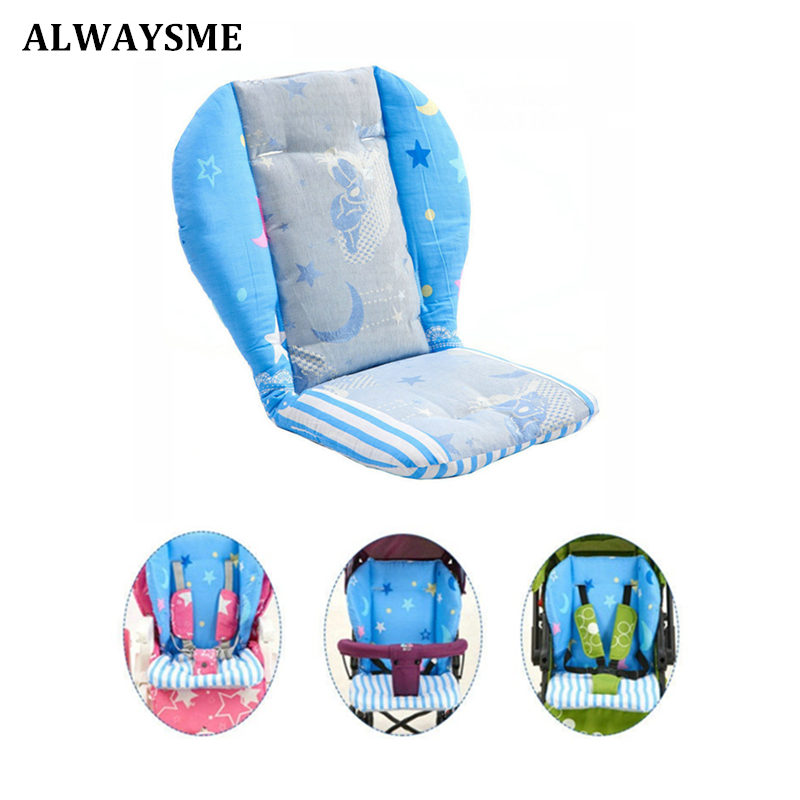 Alwaysme Baby Kids Children High Chair Cushion Cover Booster Mats Pads Feeding Chair Cushion Stroller Seat Cushion 300g Weight