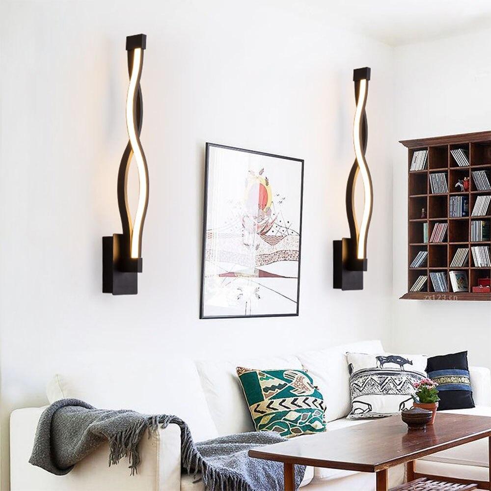 Led Bedroom Lights Decoration: [DBF]Modern New Postmodern Simple Creative Wall Light LED
