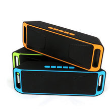 Wireless bluetooth speaker portable outdoor audio double horn Bass Sound Subwoofer mini speakers support TF/UDisk Multifunction