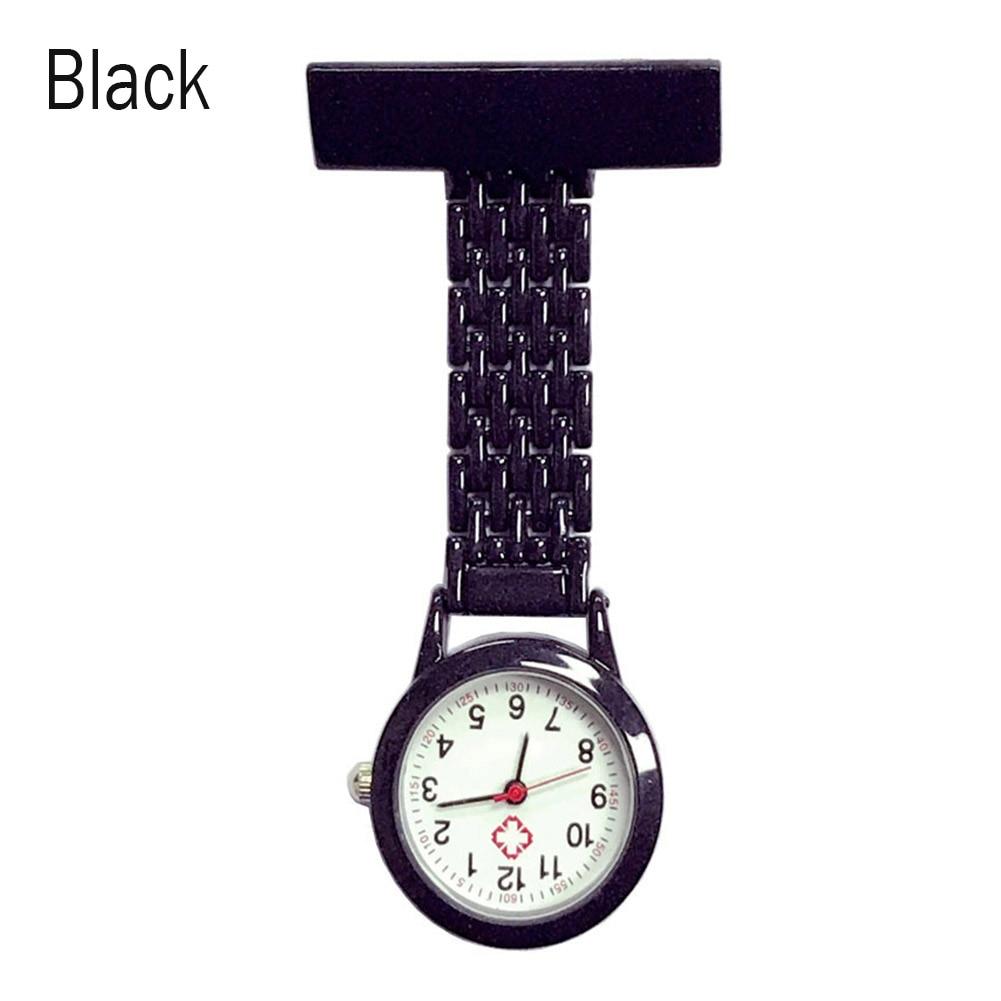 Nurse Quartz Watch Brooch Pocket Brooch Clip Medical Nurse Pocket Nursing Watch LXH