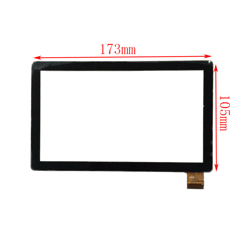 New 7'' inch touch screen panel digitizer glass for Supra M722 Tablet PC Free Shipping new touch screen digitize glass panel for 7 inch azpen a700 a701 tablet pc mid7