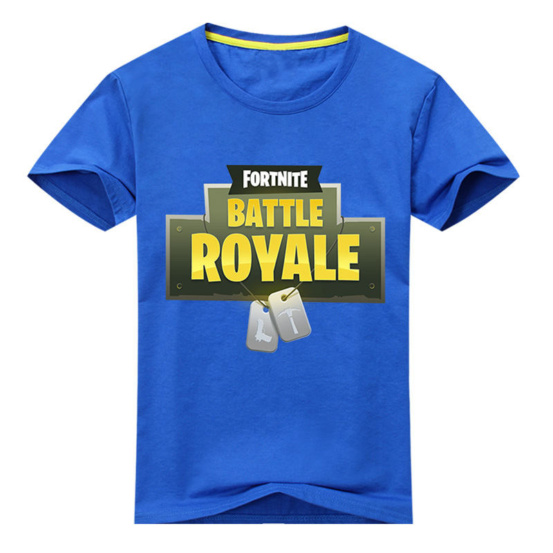 2018 Children 3D fortnite Printing Shirt Kids Summer Short Sleeves Tee Tops For Boy Clothes Girls Clothing Baby Costume DX021