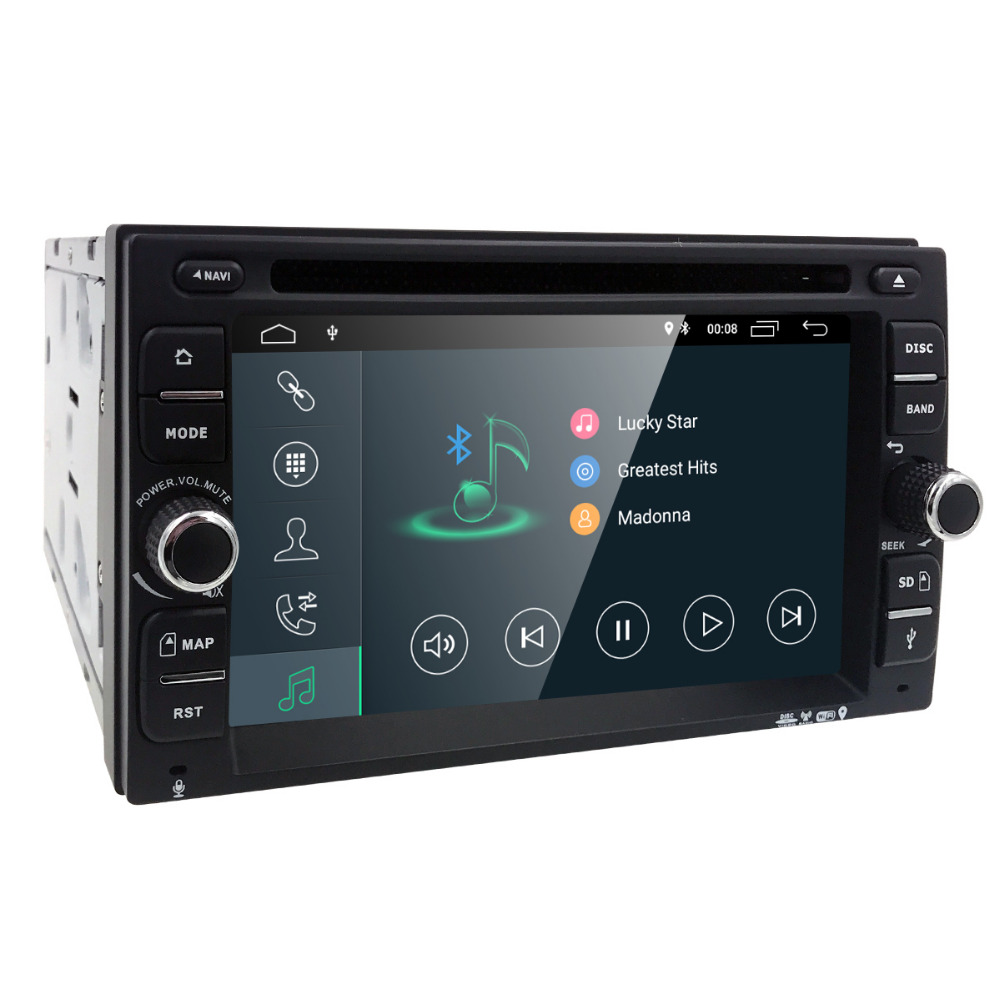 Android 8.16.2Inch Auto Radio Ouad Core 2DIN Universal Car DVD player GPS Stereo  Audio